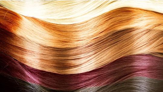 آشنایی با رنگ های مو